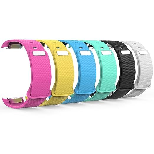 2 opinioni per MoKo [6 pezzi] Samsung Gear Fit2 Cinturino, Braccialetto Morbido Sportivo di