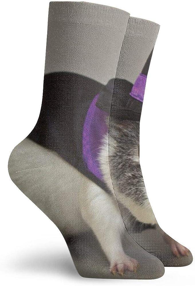 ASS Pack de calcetines de vestir unisex Conejillo de Indias con sombrero de bruja Divertidos calcetines de poliéster: Amazon.es: Ropa y accesorios
