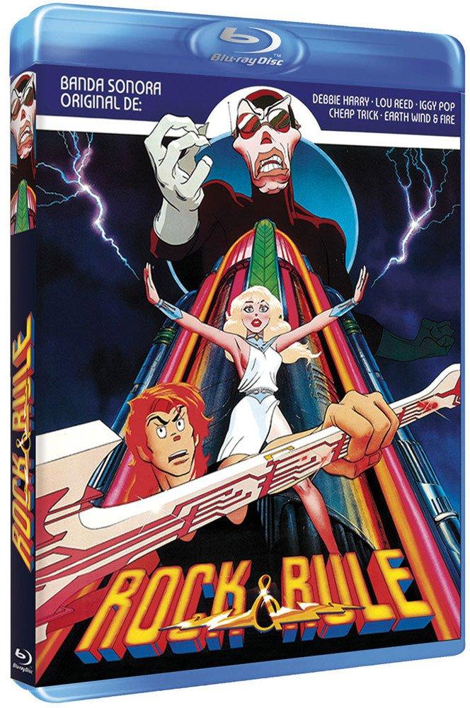 Rock & Rule (1983) [ Blu-Ray, Reg.A/B/C Import - Spain ]