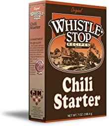 Original WhistleStop Cafe Recipes | Chili Starter Mix | 5-oz | 1 Box