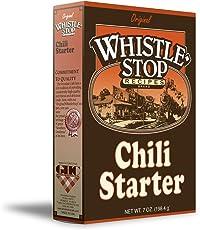 Original WhistleStop Cafe Recipes | Chili Starter Mix | 5-oz | 1 Box