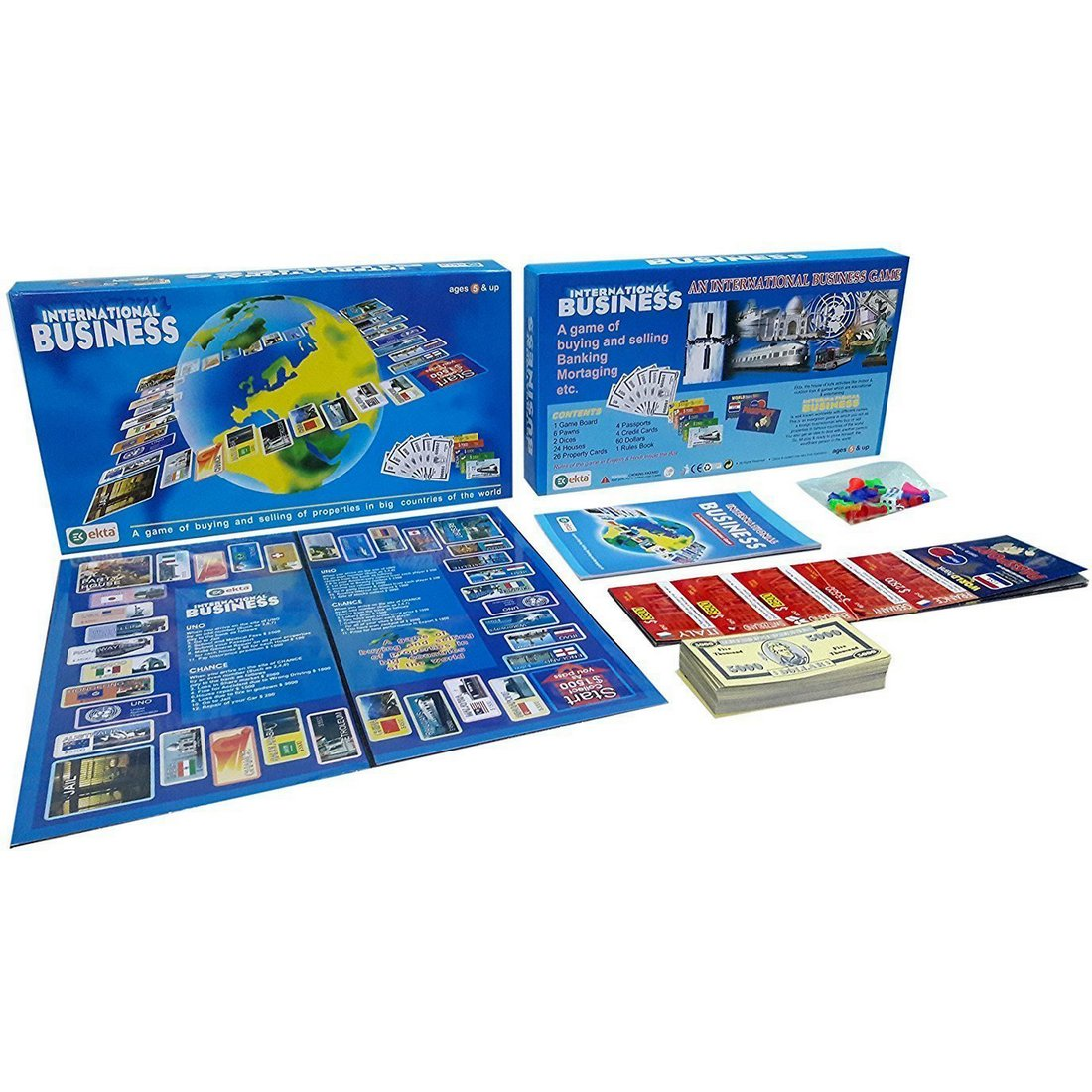 Amazon Com Ekta International Business Board Game Family Game Toys