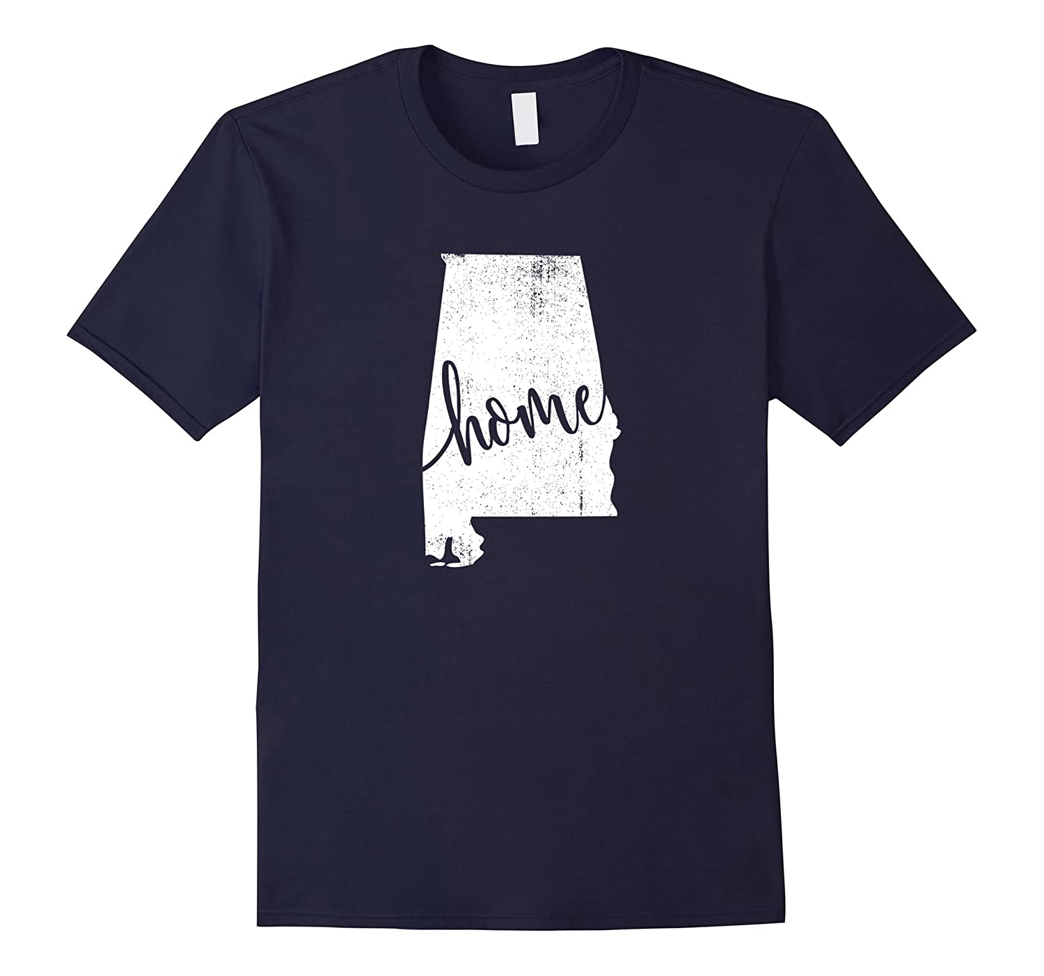 Alabama Home Love Vintage state map outline shirt-T-Shirt