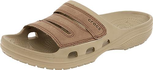 19fc399593d Crocs Men s Yukon Slide Sandal