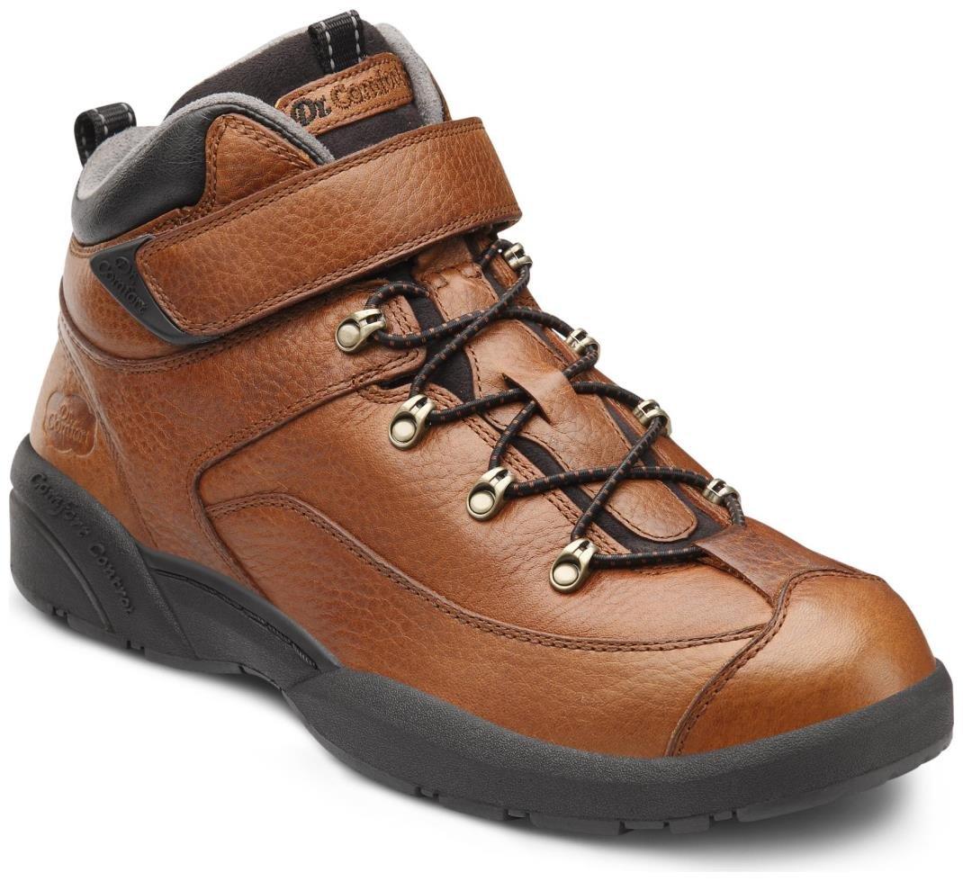 Dr. Comfort Ranger Mens Hiking Boot Chestnut Wide Size 12