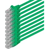 1aTTack - Cable de red UTP con conectores RJ45 (cat. 6) verde- 10 Unidades