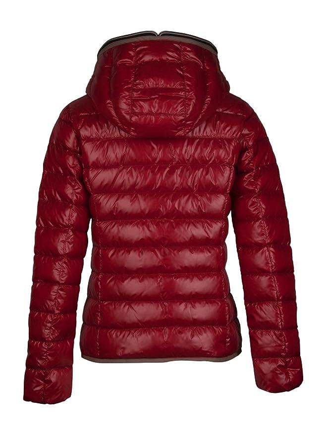 Duvetica Damen Daunenjacke Rot 36: : Bekleidung