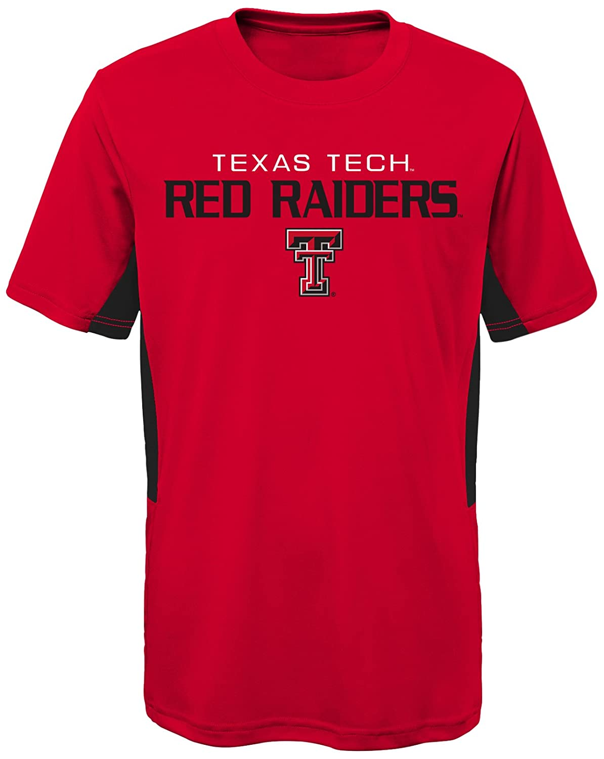 Red NCAA by Outerstuff NCAA Texas Tech Red Raiders Youth Boys Mainframe: Short Sleeve Performance Top Youth X-Large 18