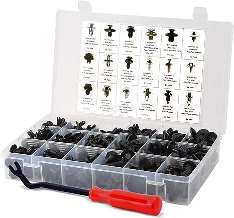 Kit Blind Rivets 50pcs Plastic 6mm Side Bumpers Nylon Nuts Accessories