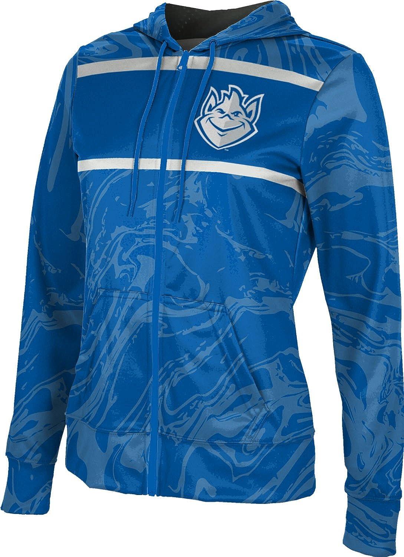 School Spirit Sweatshirt Ripple ProSphere Saint Louis University Girls Zipper Hoodie