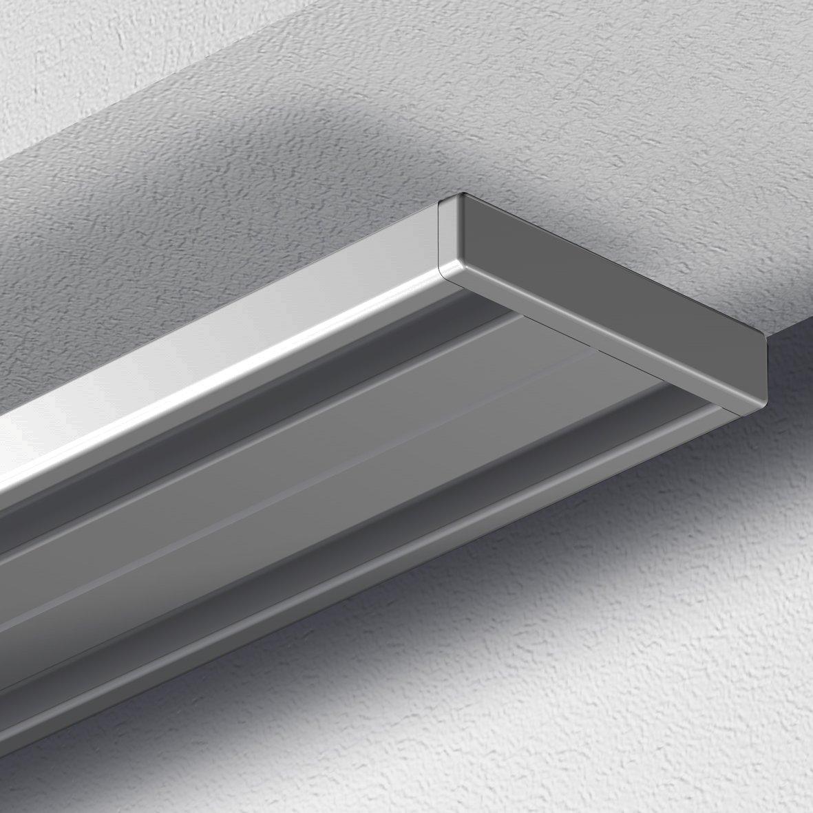 Top Amazon.de: GARDUNA 450cm Gardinenschiene Vorhangschiene, Aluminium  FF11