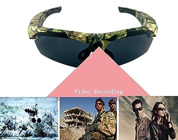 Joycam- Gafas de sol polarizadas UV400 con cámara DVR, grabación de vídeo Full HD de 1080 p con amplio ángulo de visión para deportes al aire libre, ...