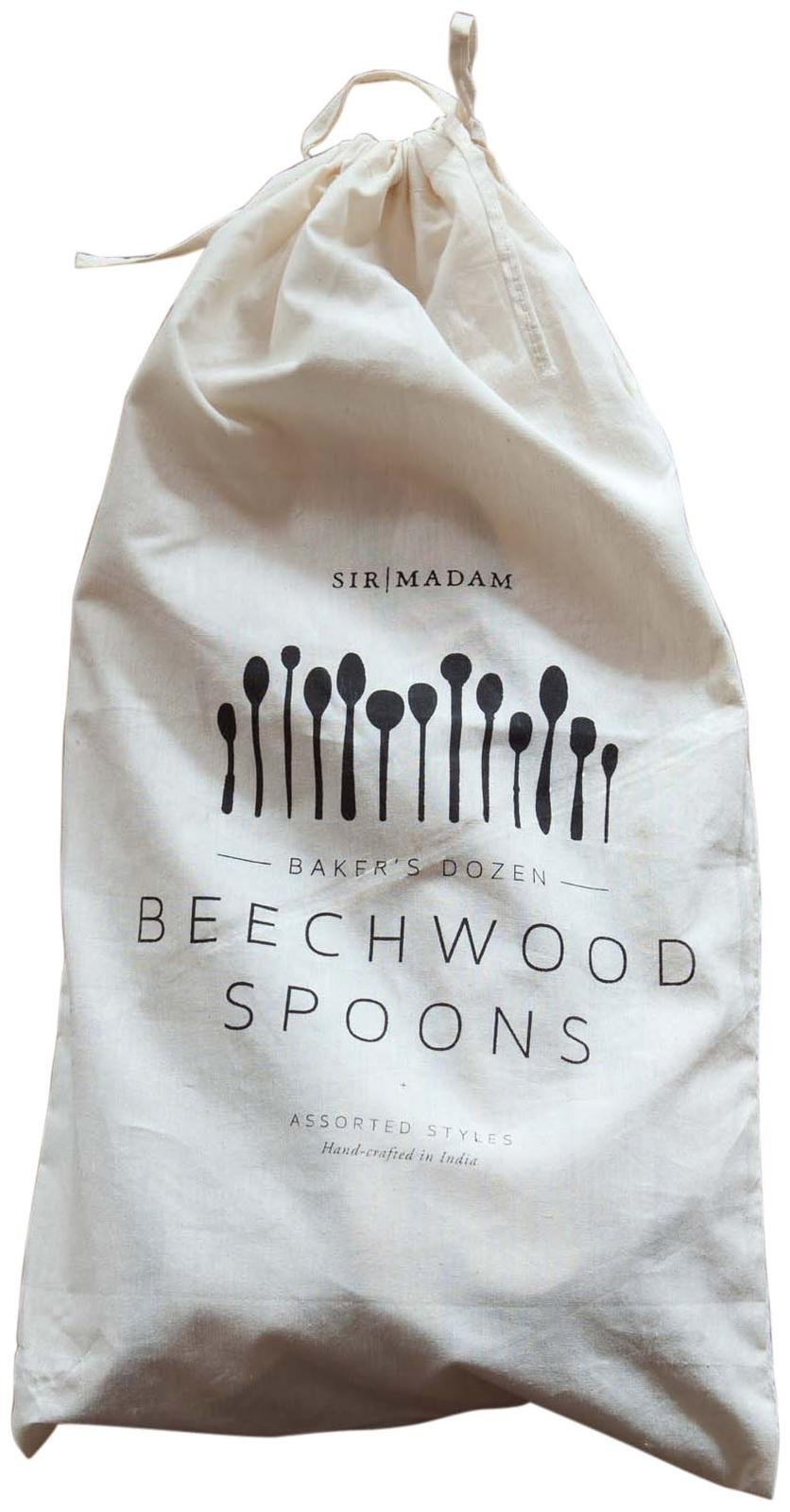 Sir/Madam Bakers Dozen Large Wood Spoon by Sir/Madam (Image #1)