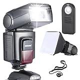 NEEWER TT560 フラッシュ スピードライト デラックスキッド Canon Nikon Sony Pentaxに対応 キッド内容: NEEWER TT560 フラッシュ+ 5 in 1 リモートコントロール+フラッシュディフューザー+レンズキャップホルダー 【並行輸入品】
