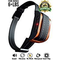 No Shock Bark Collar for Small to Large Dogs - Smart Chip Adjusts to Stop Barking in 1 Minute…