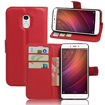 Funda Xiaomi Redmi Note 4, Fertuo [Antigolpes] Cartera ...