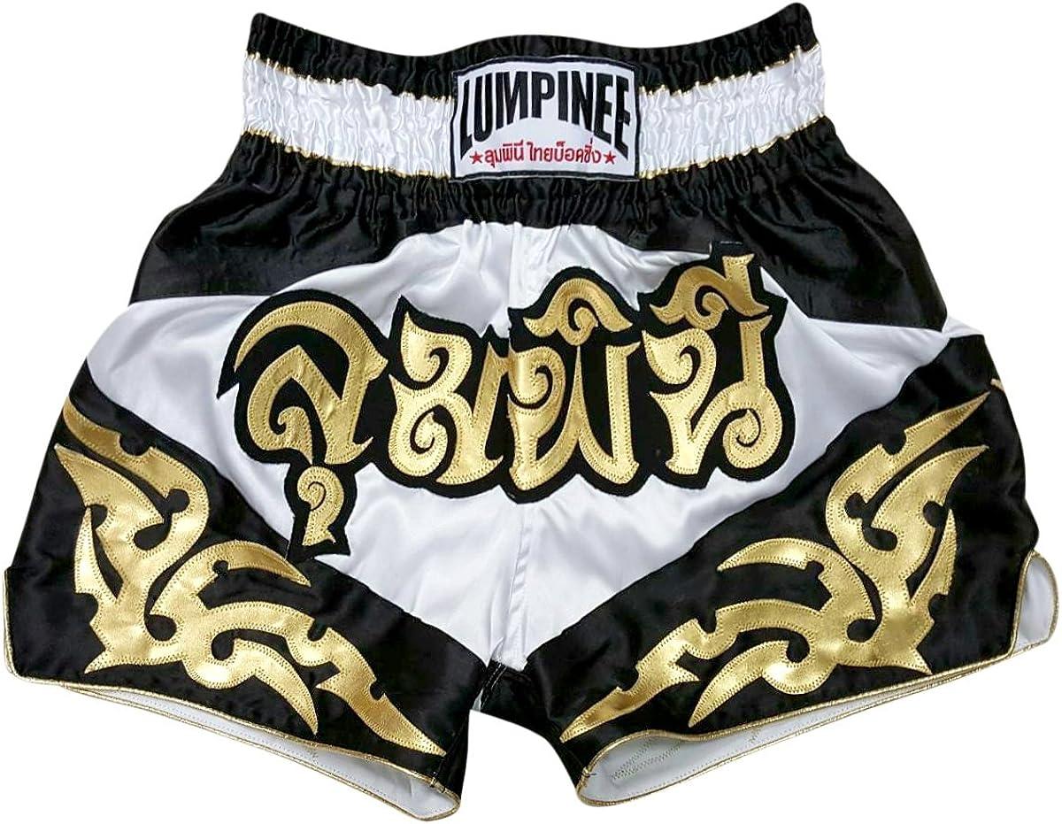 Lumpinee Muay Thai Shorts New Retro Thai Boxing Shorts MMA Trunks Kick Boxing