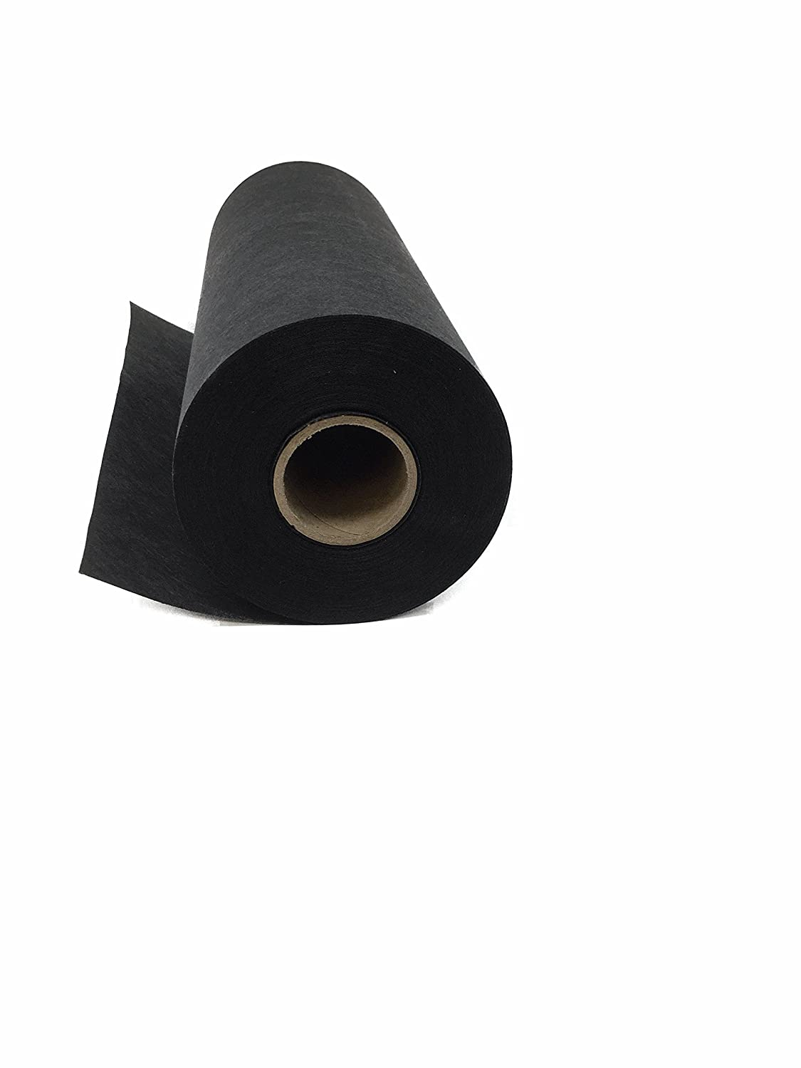 "Cut Away Embroidery Stabilizer (Black) 11"" x 25 Yard Roll – 2.5 Ounce Black Cutaway for Machine Embroidery H.B.I."