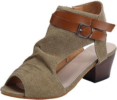 Women/'s Casual Sandals Autumn Wedge Heels High Platform Open Toe Shoes HOT