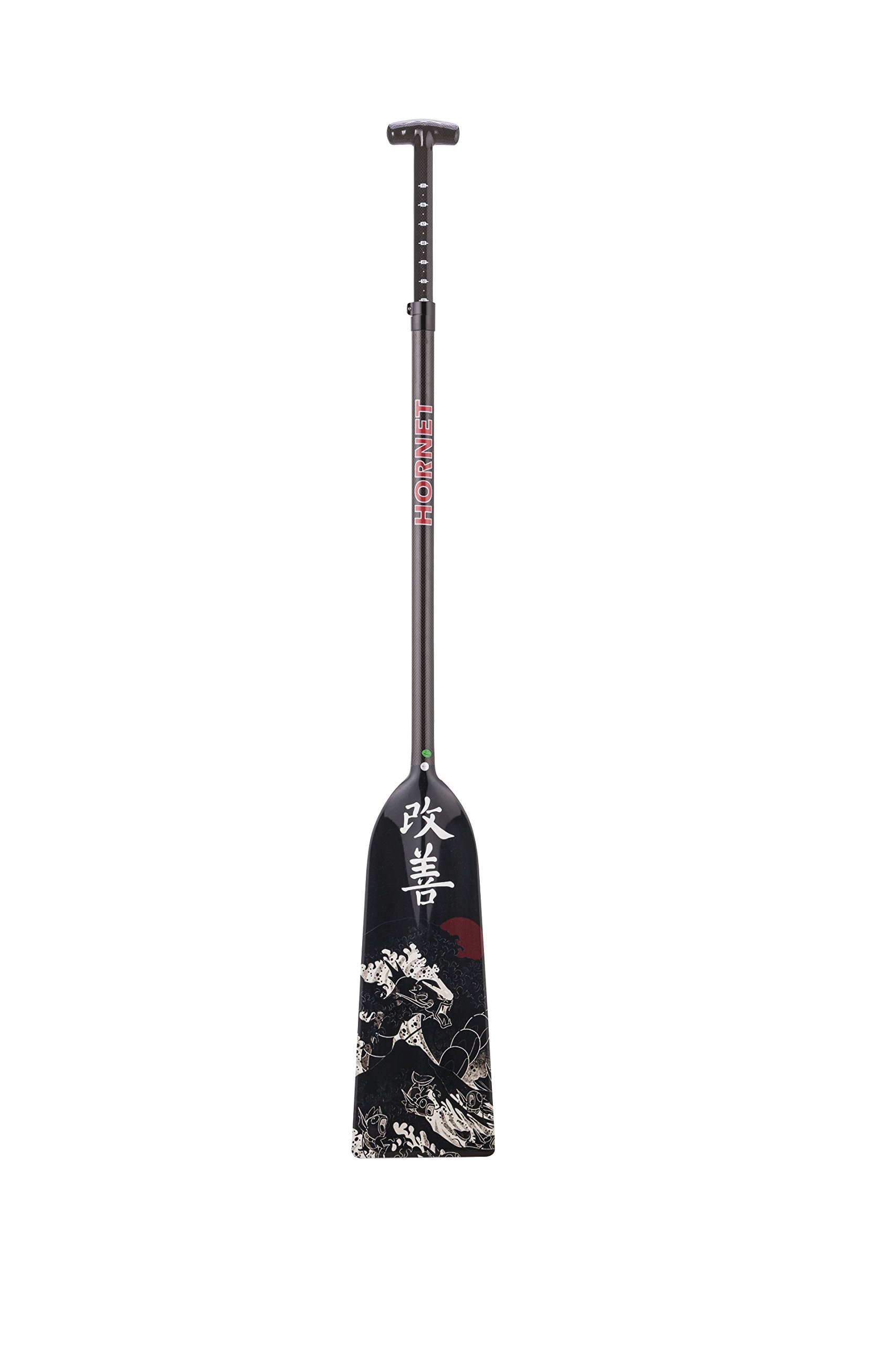 Hornet Watersports Dragon Boat Paddle Adjustable Carbon Fiber Kaizen by Lightweight IDBF Approved by Hornet Watersports (Image #4)