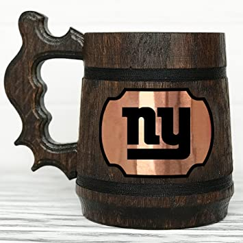 New York Giants Mug. Personalized New York Giants Beer Mug. Sport Custom  Beer Mug de170455d