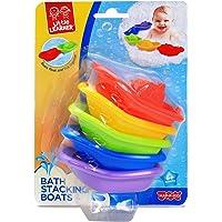 Little Learner Little Learner Bath Stacking Boat 5pk Playset