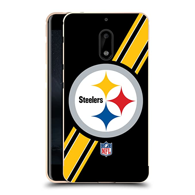 Amazon Official Nfl Stripes Pittsburgh Steelers Logo Gold
