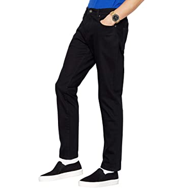 Red Herring Men Big and Tall Black Slim Fit Jeans 42R  Red Herring ... 8c2e3a6ca