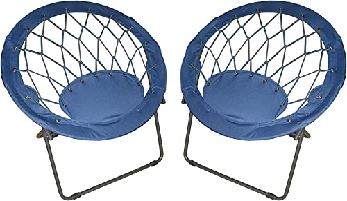 Blue Bungee Chairs Pack of 2 - the best living room chair for the money
