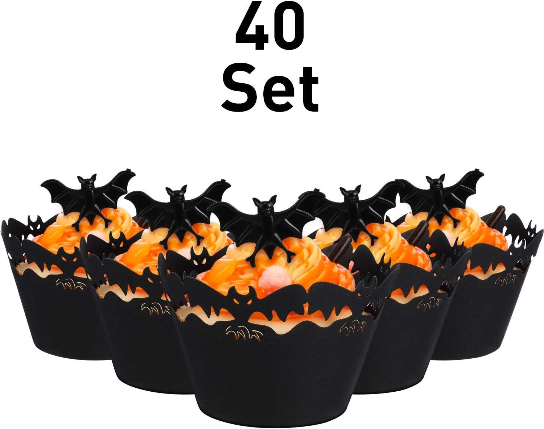 Bat Cupcake Kits