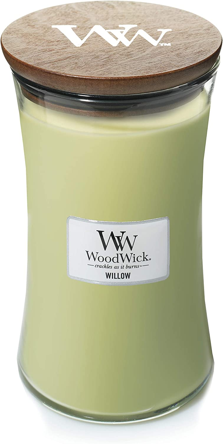WoodWick Candle, Willow, Large