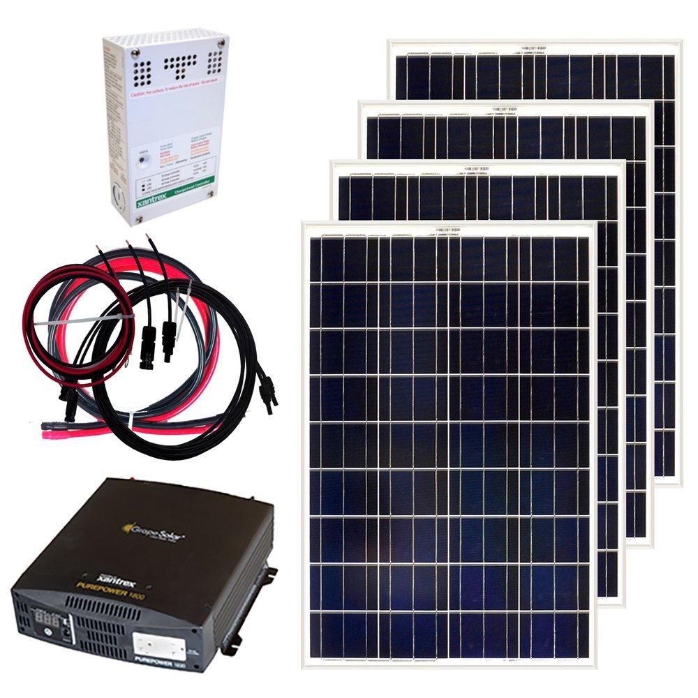 Grape Solar Gs 400 Kit Watt Off Grid Panel Wiring Diagram Further Rv System Additionally For Homes Garden Outdoor