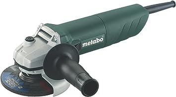 Metabo W 820-115 - Mini amoladora 820 W disco 115 mm, caja cartón
