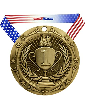 Amazon com: Trophies, Medals & Awards - Accessories: Sports
