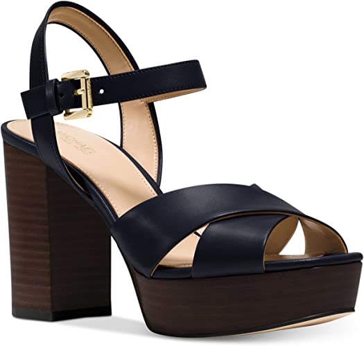 Divia Platform Leather Sandal (9.5