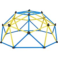 Albott Geometric Dome Climber – Rust and UV Resistant Steel Frame Outdoor Kids Play Jungle Gym Climbing Dome with 800lbs…
