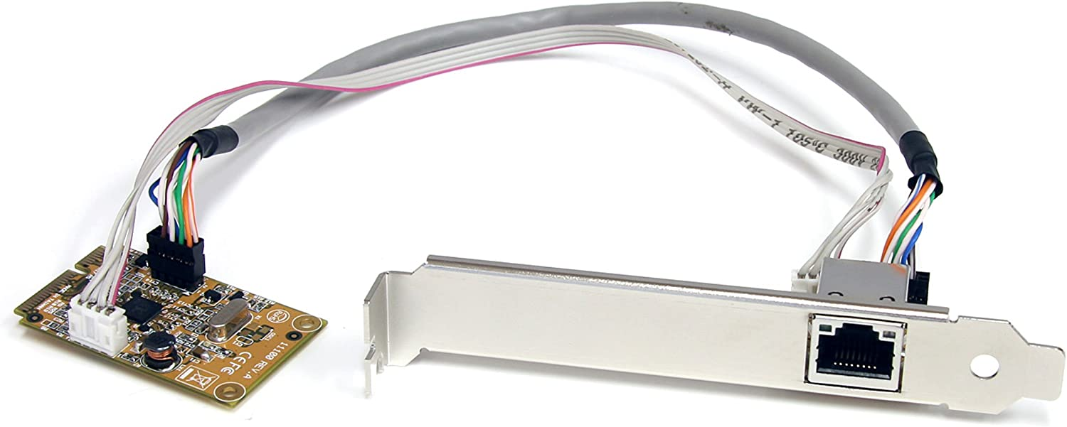 Mini PCIe Card - 10/100/1000Mbps RJ45 Lan Port