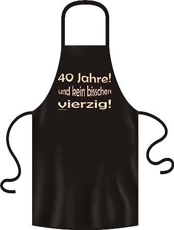 Lustige Fun Geschenkidee Zum 40 Geburtstag Koch Grill Schurze 40