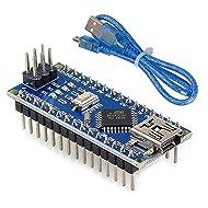 Mini Nano V3.0 ATmega328P Microcontroller Board USB Cable for Arduino