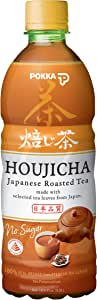 POKKA Houjicha Tea 500 ml  (Pack of 24)