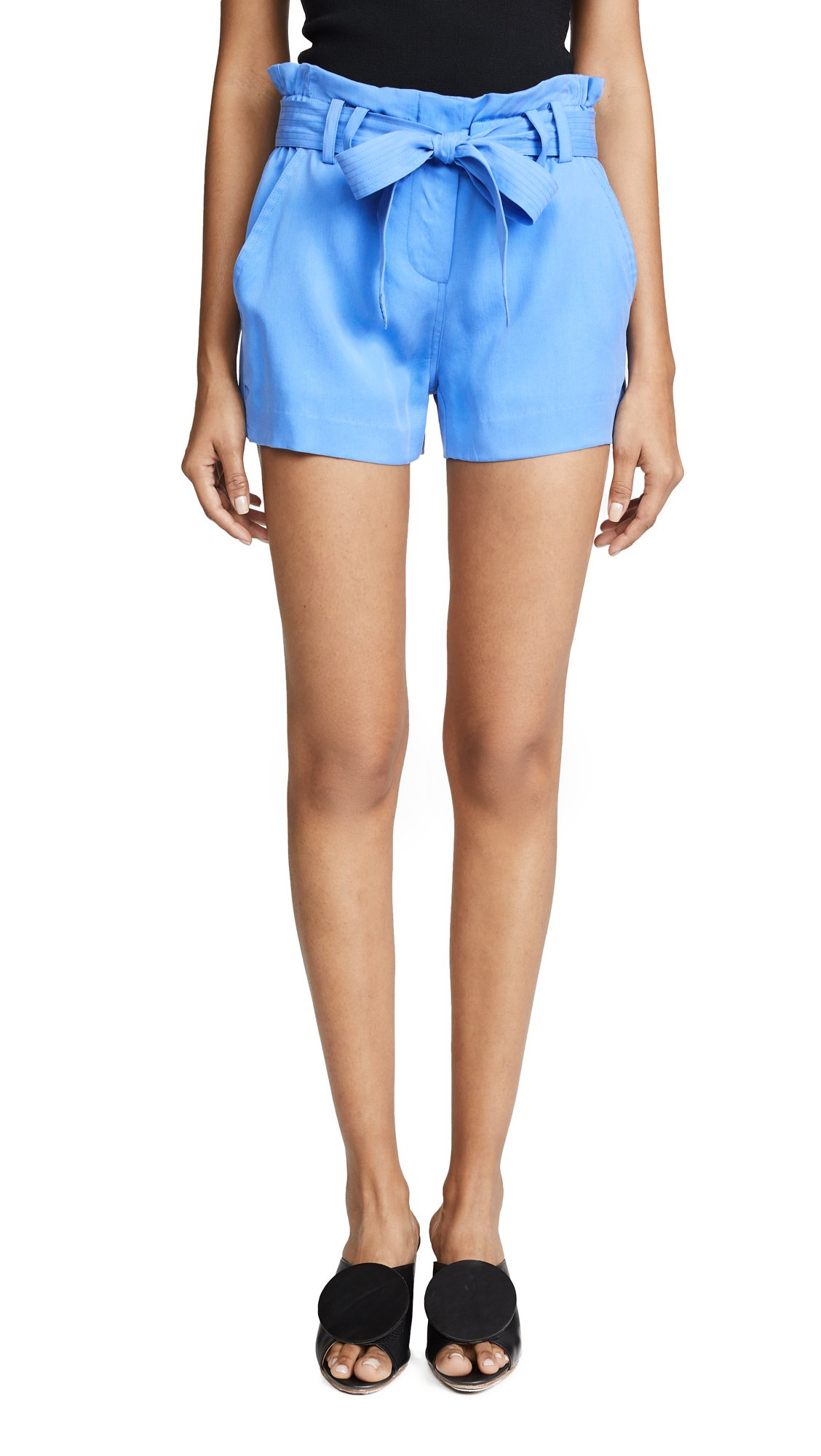 Ramy Brook Women's Sansa Shorts, Blue Hydrangea, 8