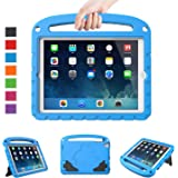 LTROP Kids Case for iPad Mini 5 4 3 2 1 - Light Weight Shock Proof Convertible Handle Stand Kids Case for New iPad Mini 5 2019, Mini 4th Generation, iPad Mini 3, iPad Mini 2, iPad Mini - Blue