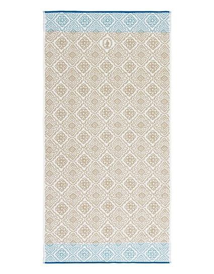 Toalla Jacquard Check, de estilo hindú y algodón puro de Pip Studio , caqui,