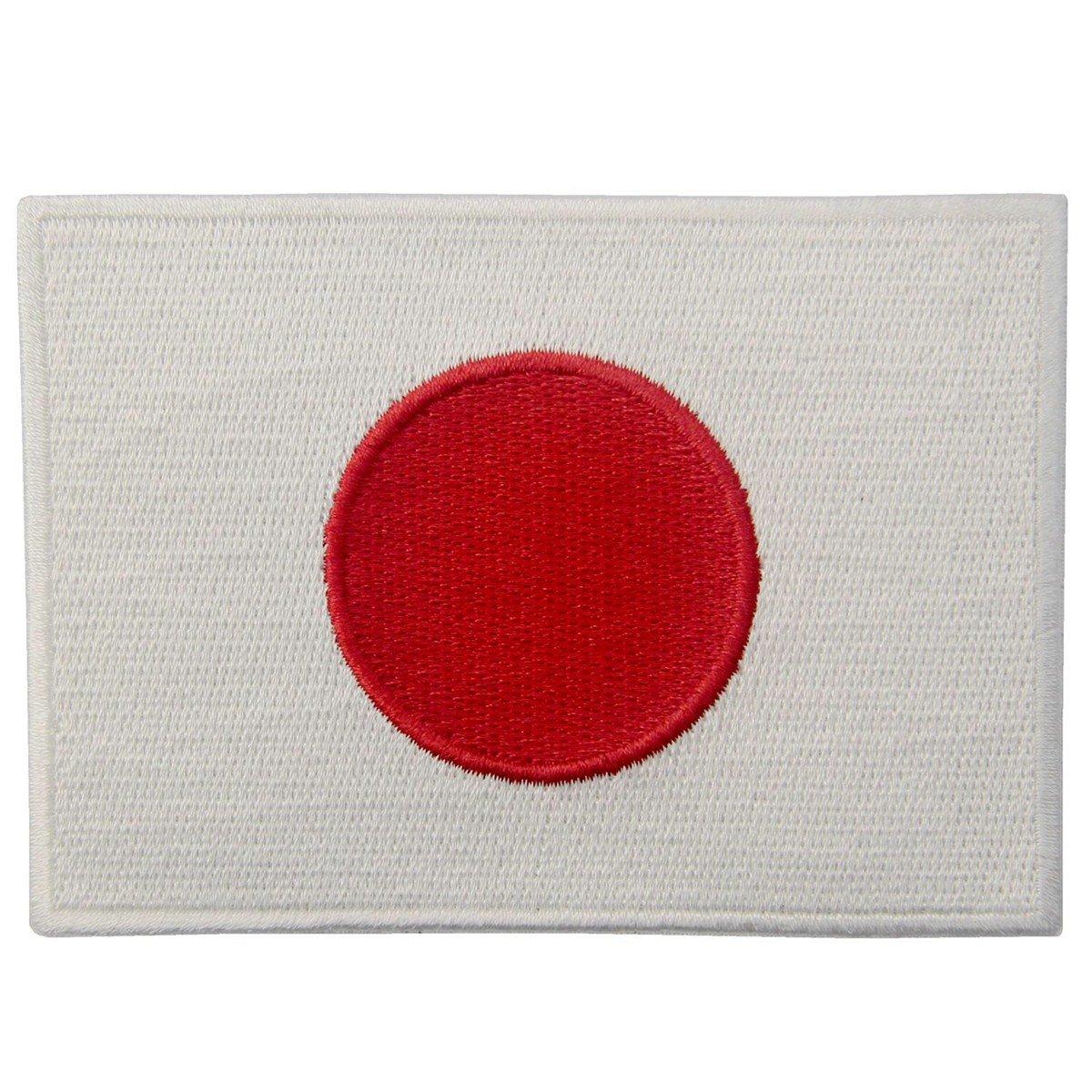 Bandera japonesa Etiqueta autoadhesiva