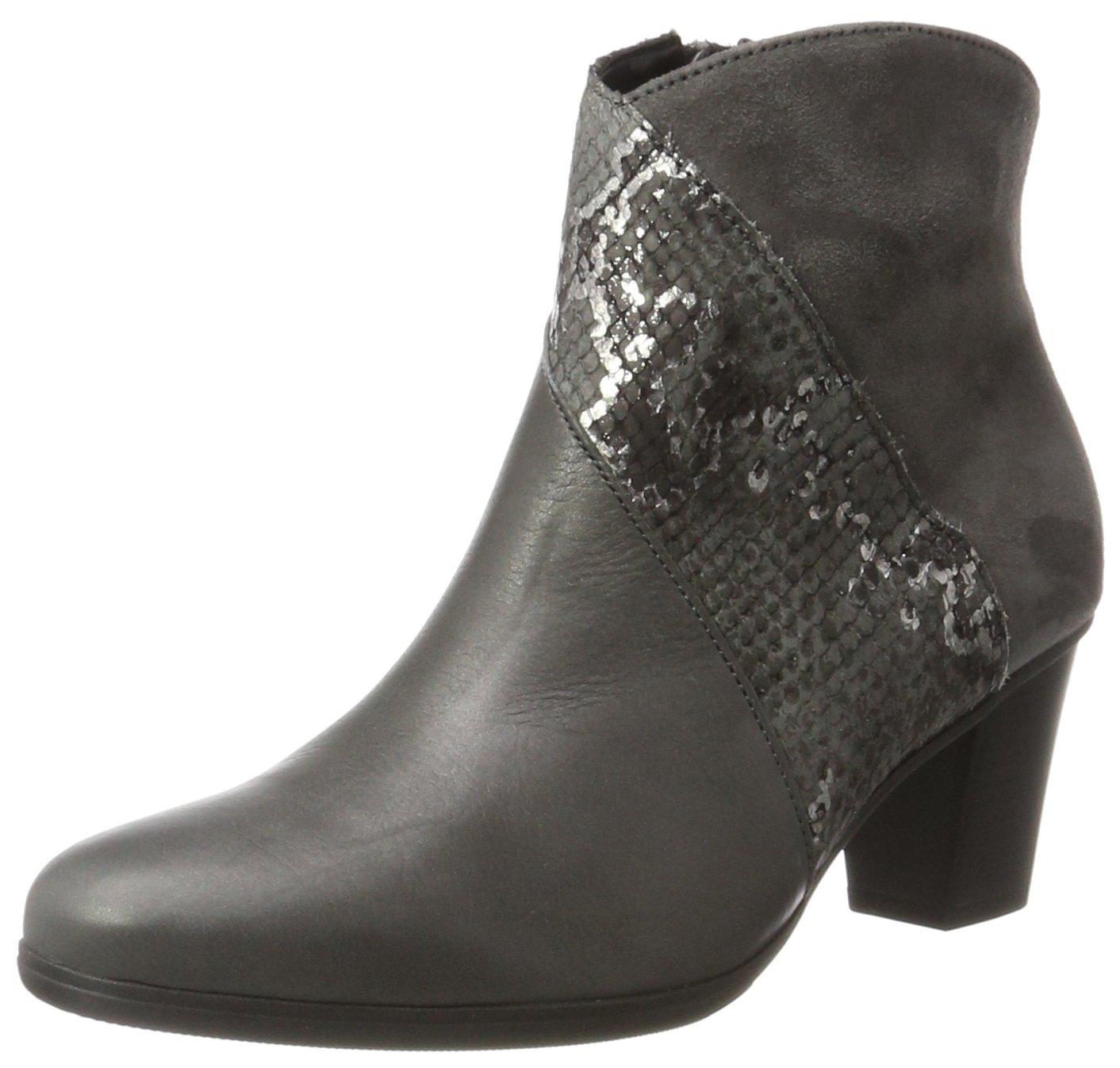 Gabor Shoes Gabor Basic, Bottes Femme 17783 Gris (69 Bottes Gabor Dark-grey Micro) 3d570b5 - boatplans.space
