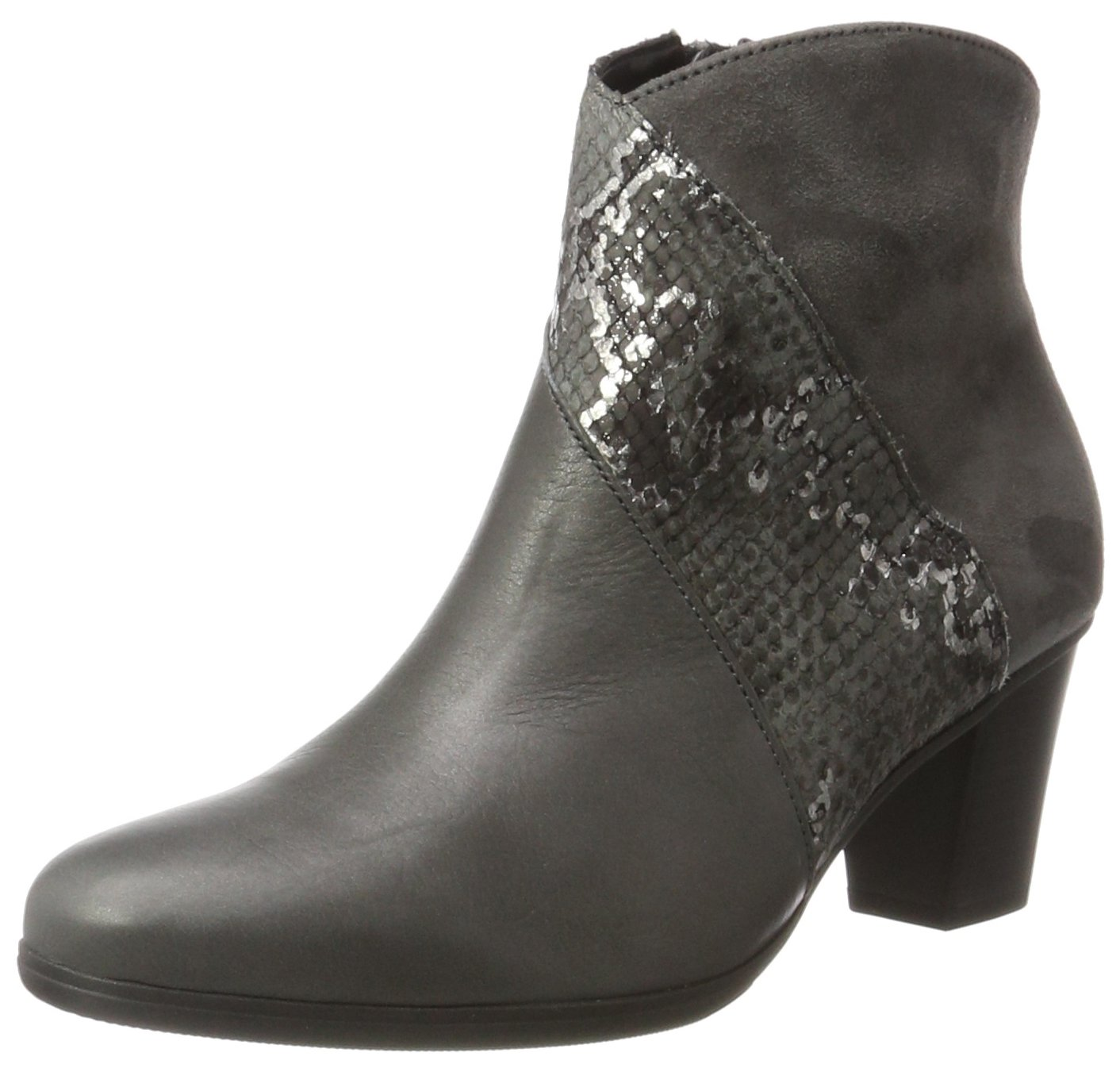 Gabor Shoes Gabor Basic, Botas para Mujer37 EU|Gris (69 Dark-grey Micro)