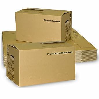 Juego de mudanza: 40 las cajas (profesional) y 15 cajas de libros (