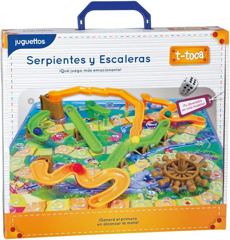 T-Toca Juego Serpientes y Escaleras: Amazon.es: Juguetes y juegos