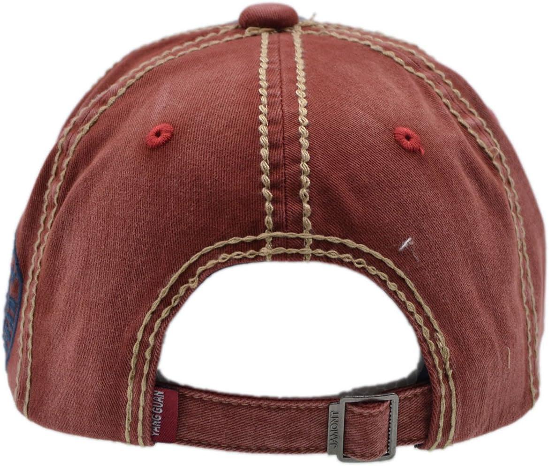 Lettera Patch Berretto per Uomini /& Donne Sport iParaAiluRy Cotone Cappello da Baseball Regolabile Cappellini da Baseball per Ambientazione Esterna Viaggi