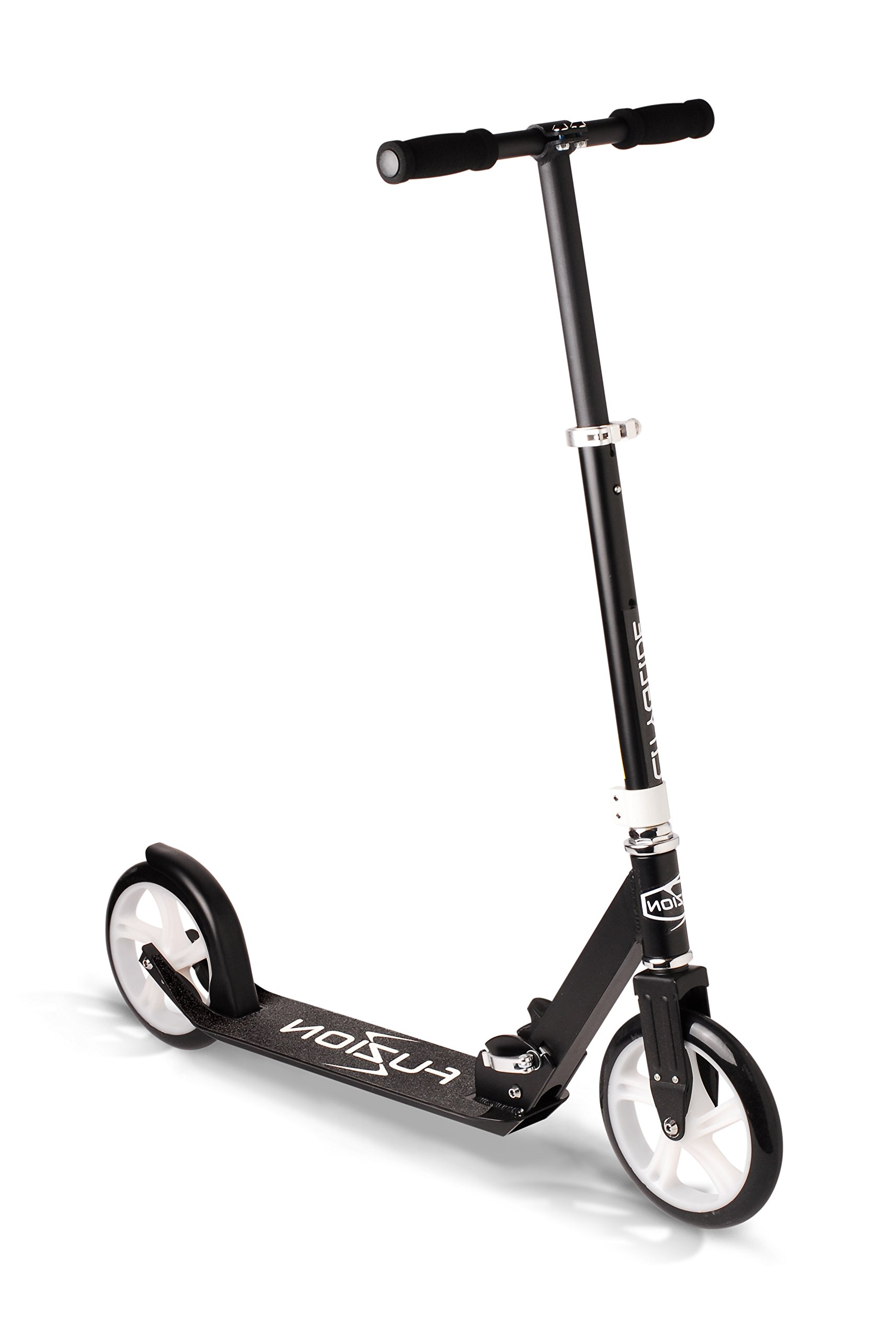 Fuzion Cityglide Adult Kick Scooter - Smooth, Pro Push Urban Scooters for Adults, Commuter Scooters, City Scooters - Folding Scooter and Adjustable T-Bar - Big Kids, Boys and Girls (Max 220lbs) by Fuzion